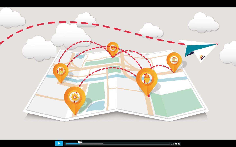 Repsol EP Motion graphics visual loop animacion